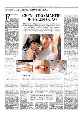 Article in Spanish Newspaper