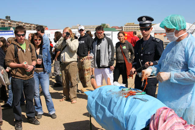 Czech Republic: Re-enactment of Organ Harvesting at a Rally